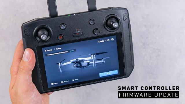 DJI Mavic Air 2 Smart Controller Compatibility - How to Update