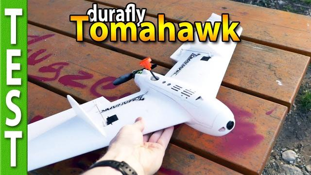 Durafly Tomahawk tiny wing review, sunset flights and chases