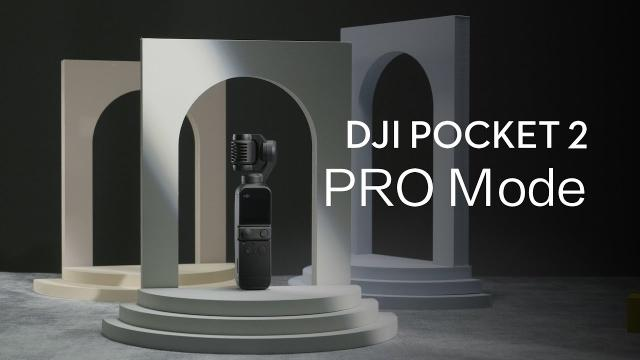DJI Pocket 2 | PRO Mode FULL CONTROL without SMARTPHONE