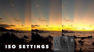 GOPRO HERO8 - ISO comparison - WATCH THIS BEFORE YOU SHOOT!- GoPro Tip #658 | MicBergsma