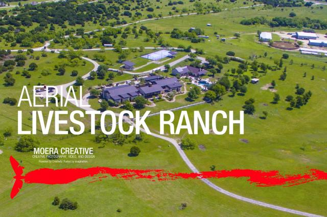 DJI Inspire 1 - Aerials over Ranch and Livestock