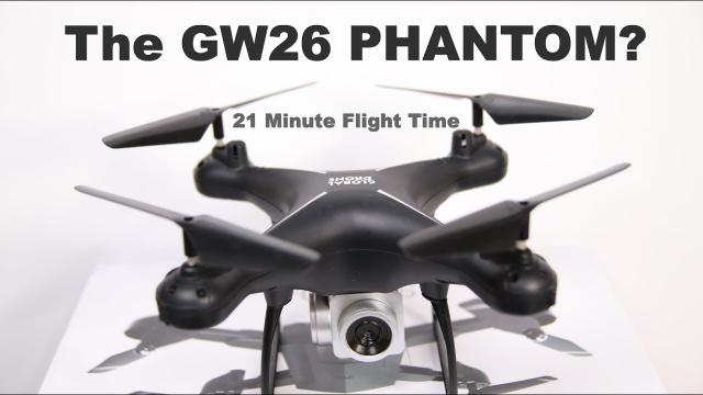 The Phantom GW26 Global Drone with 21 Minute Flight Time