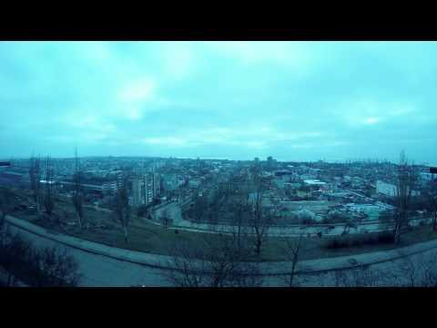 Berdyansk Time Lapse Test GoPro Hero 4 Silver