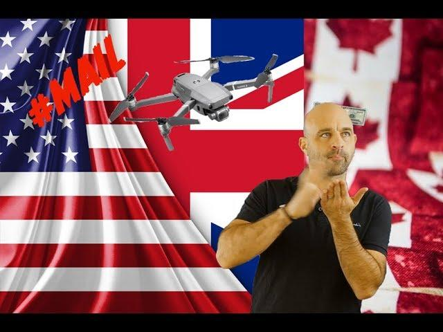 USA, CANADA, UK? Whose DRONE law is best?//#MAIL- 94