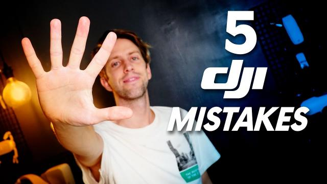 DJI 5 THINGS YOU NEED TO IMPROVE