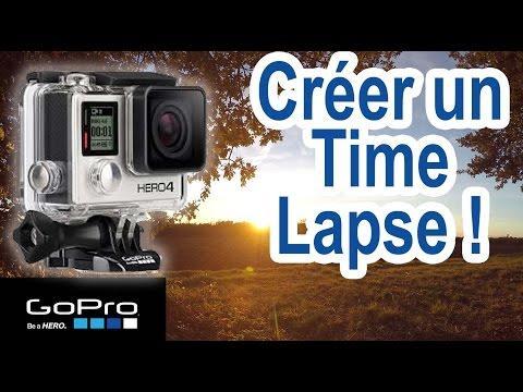 Astuce  N°10 : Time Lapse Avec GoPro4 Silver (effet Accéléré)