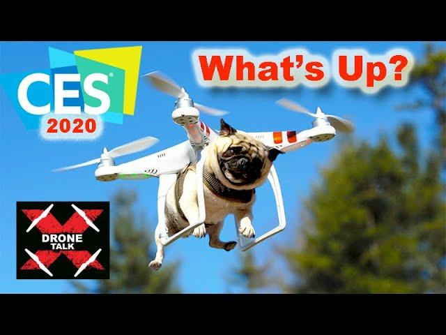 Drone Talk EP#2 - CES 2020 Cool Consumer Drones - EVO 2, DJI, Evolve 2, V-Coptr, PowerEgg X,