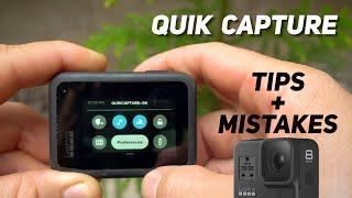GoPro Quik Capture Feature Tips / Mistakes! GoPro Tip #665 | MicBergsma