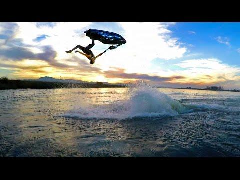 GoPro: Freestyle Jet Ski Tricks On A River With Eli Kemnitz