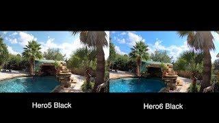 GoPro Hero6 vs Hero5 COLOR COMPARISON - GoPro Tip #601