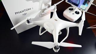 DJI Phantom 4: Unboxing & Review