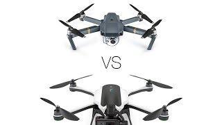 GoPro Karma vs DJI Mavic Comparison - What to buy?