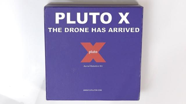 The PLUTO-X Drone - For the Inquisitive Mind