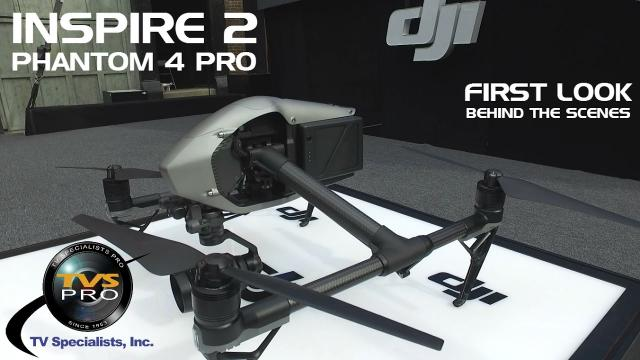 DJI Inspire 2 Phantom 4 Pro FIRST LOOK AT LIVE EVENT