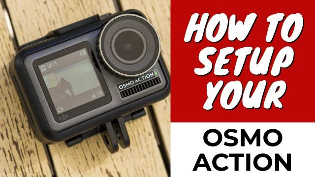 How to Setup Your DJI Osmo Action |Tutorial