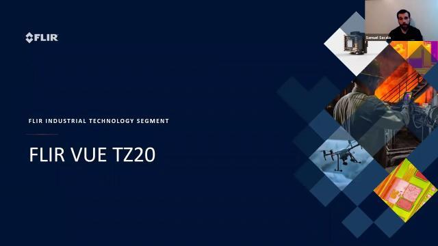 Drone Nerds Tech Talk with FLIR on the Vue TZ20 Sensor