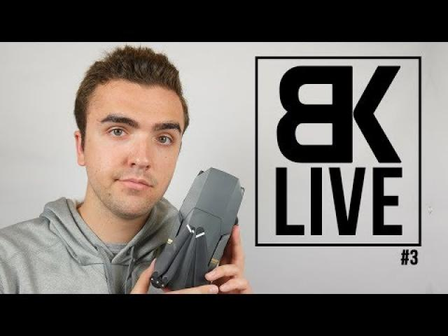 "BK LIVE - Is The Mavic Pro Still The ""Best"" Drone in 2018?"