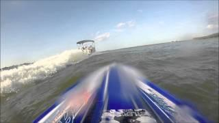 TRAXXAS SPARTAN GoPro Chasing A Boat!!!