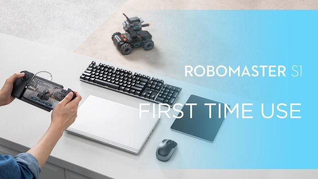 How to Use RoboMaster S1
