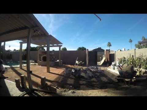 Backyard Transformation Time-Lapse With GoPro Hero4 Silver