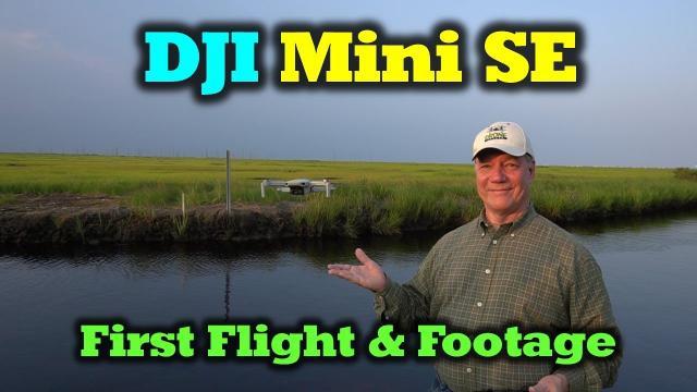 DJI Mini SE - First Flight | Footage | Impressions