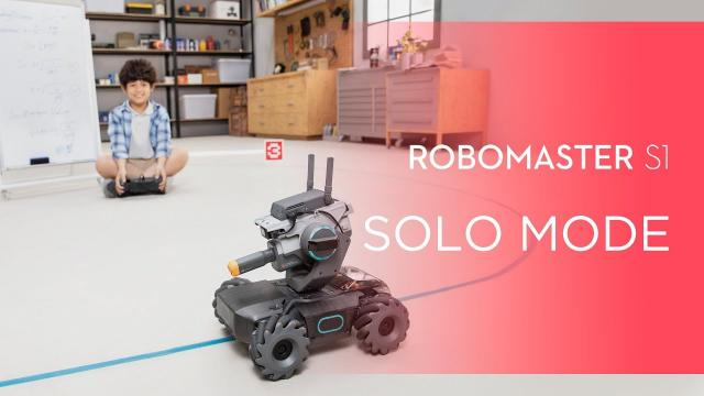How to Use Solo Mode on RoboMaster S1
