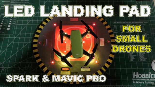 LED Takeoff and Landing Pad - DJI Spark & Mavic Pro - Review & Demo