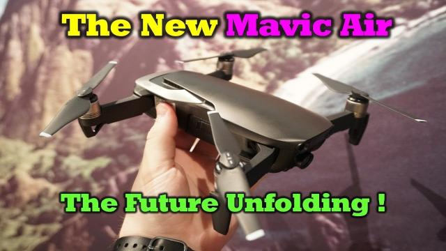 The New Mavic Air - Everything You Need To Know
