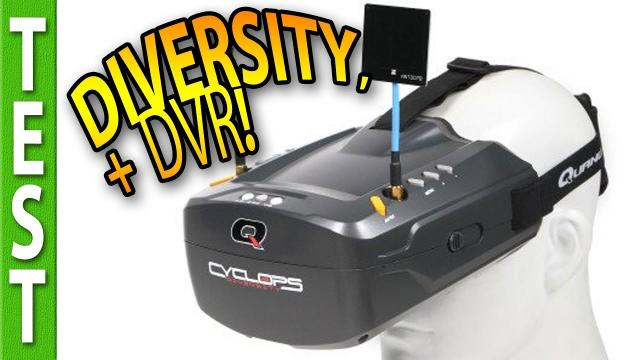 Cyclops DIVERSITY, my new BUDGET TIP for FPV goggles!