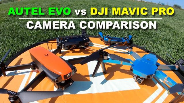 DJI MAVIC PRO vs AUTEL EVO - Camera Comparison