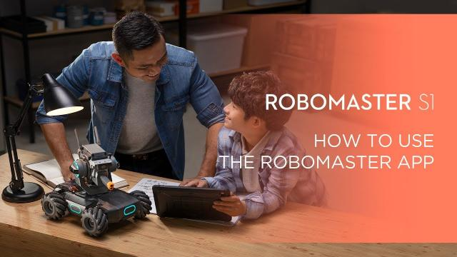 How to Use the RoboMaster App