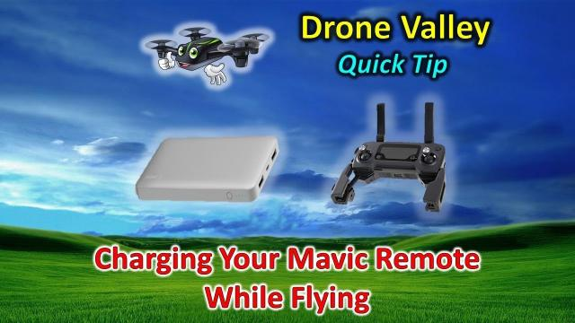 Quick Tip - Charge Your DJI Mavic Controller While Flying