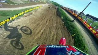 GoPro HD HERO Camera: Kyle Regal at Highpoint AMA Motocross 2010