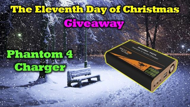 Free Phantom 4 Energen Charger -  Day 11 in Our 12 Days of Drone Valley Christmas Giveaways