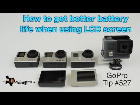 GoPro: How To Get Better Battery Life When Using LCD Screen - GoPro Tip #527