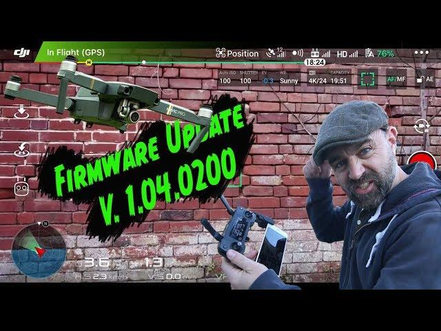How to Update Mavic Pro Drone Firmware using DJI Assistant V2