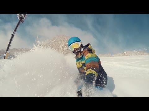 Powder Days Niseko Japan Snowboarding: GoPro Hero 4