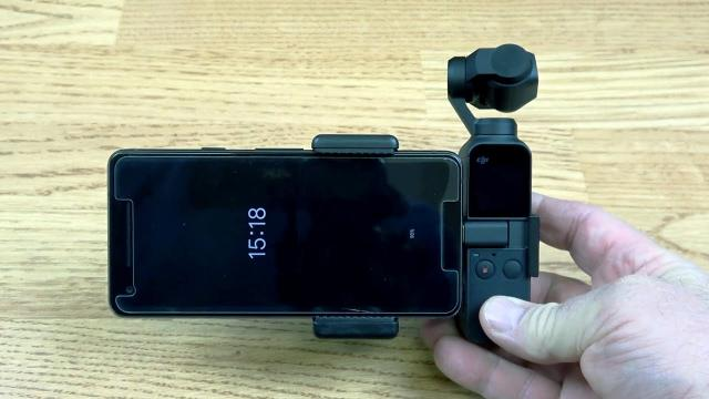 DJI OSMO Pocket Mobile Device Holder