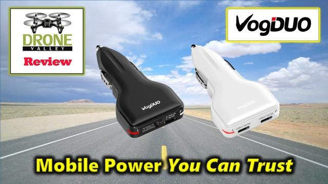 VogDUO Car Chargers - Mobile Power You Can Trust