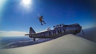 GoPro Awards: Zero G Jump Out of a World War II Army Plane