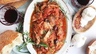 Braised Chicken Ragu