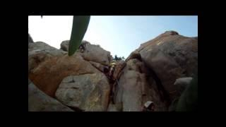 GoPro Rock Climbing In Mission Gorge!