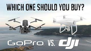 GoPro Karma vs. DJI Phantom - Which One Should You Buy?