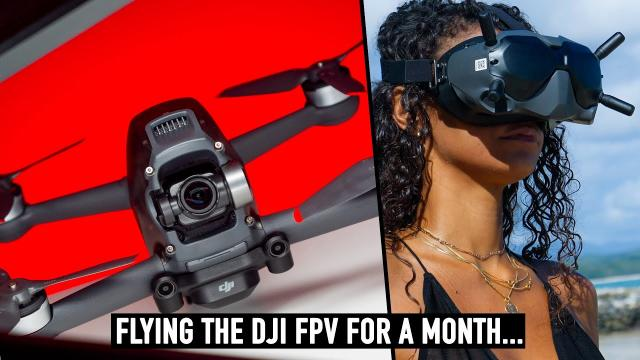 DJI FPV DRONE! We Flew It for A Month!