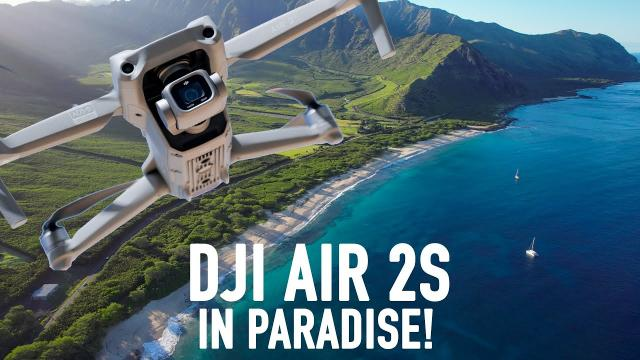 DJI AIR 2S FIRST LOOK! 5.4K VIDEO!