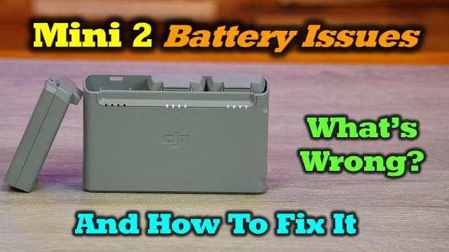 Mini 2 Battery Issues and How To Fix Them