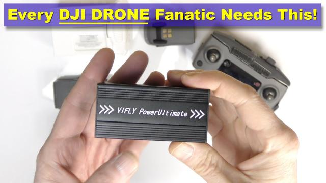 VIFLY POWER ULTIMATE - Every DJI Drone Fanatic needs this!