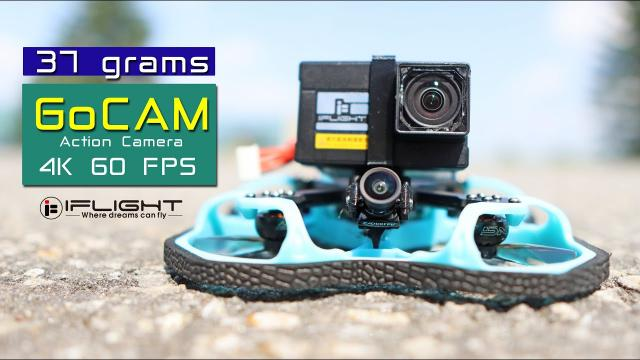 New camera for the RC Hobby - iFlight GoCam - 4K 60 FPS - Review