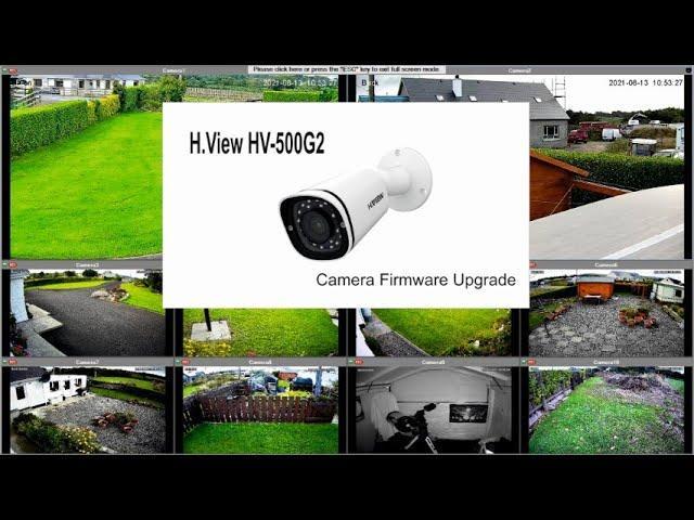 H VIEW HV 500G2 Camera Firmware Upgrade