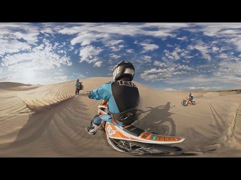 GoPro VR: Sand Dune Jumping With Ronnie Renner